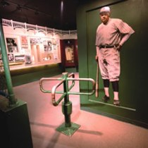 The Babe Ruth room. Photograph courtesy of the National Baseball Hall of Fame and Museum.