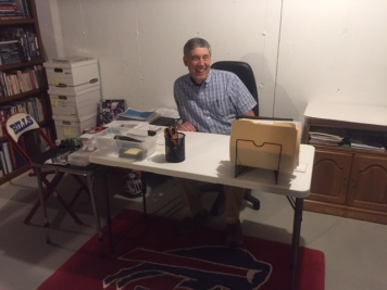 GDT at desk. JUNE Blog