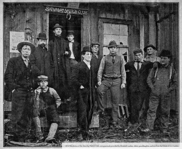 Saturday Sketch Club 1911