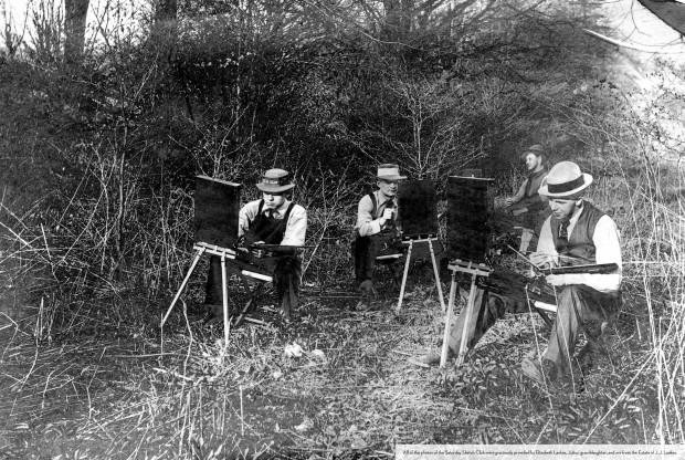 Saturday Sketch Club, 1911
